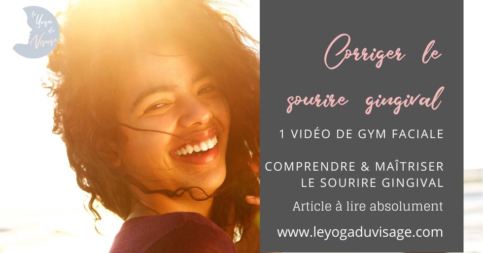 Corriger & réduire le sourire gingival naturellement sans injection ni chirurgie
